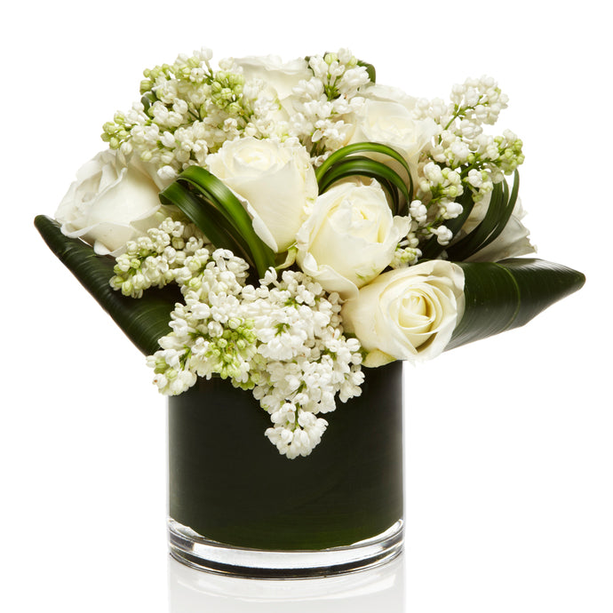 All White Luxury Floral Arrangement - H.Bloom