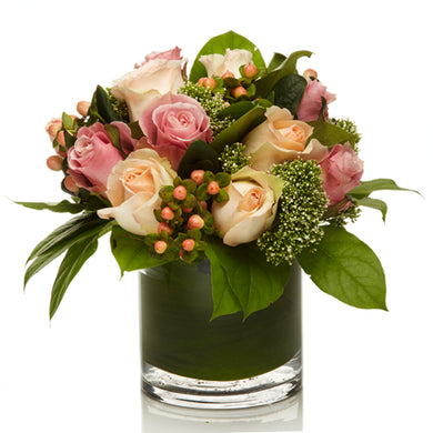Premium Pink and Coral Floral Arrangment - H.Bloom