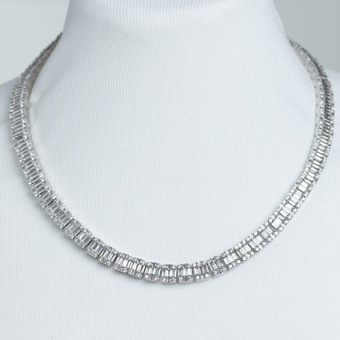 Baguette Diamond Chain