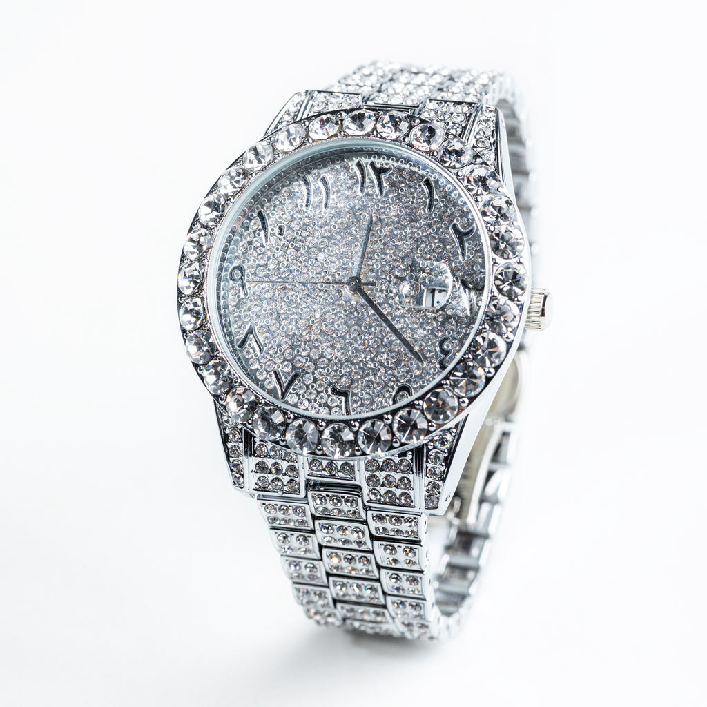 Presidential Watch In White Gold