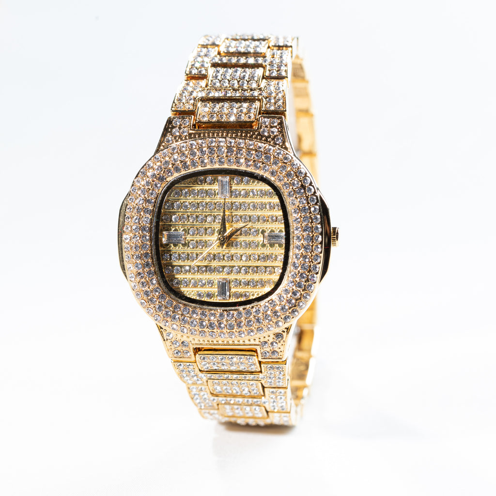 Gold Hiphop Watch Drip Store WorldWide