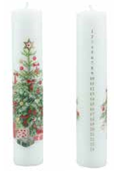 Holiday Decor ,Christmas Candles, Holiday Candles