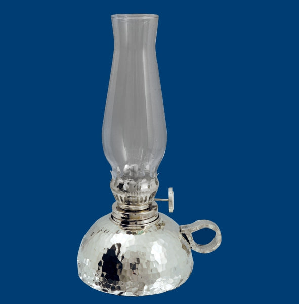 Chaudron Hammered/Brushed  Oil Lamp