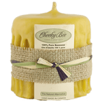 Load image into Gallery viewer, Beeswax Candles ( Cheeky Bee)-Natural Colour