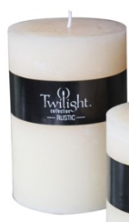 Load image into Gallery viewer, Rustic Pillars Candles -(Twilight Collection),Square Chunky Pillar