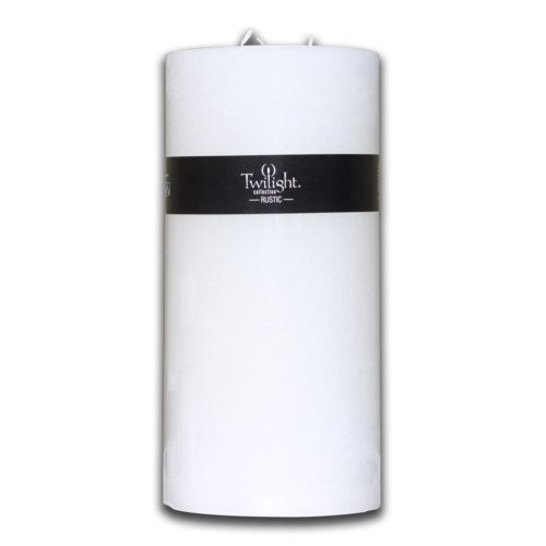 Rustic Pillars Candles -(Twilight Collection),Square Chunky Pillar