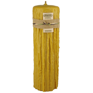 Beeswax Candles ( Cheeky Bee)-Natural Colour