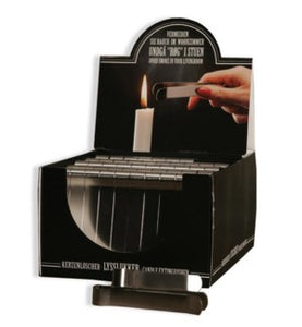 "OCD Candles-12/10/14"" Taper (12ea/box) ,Bobeche,Candle Cuffs,Wax Button,Wick Trimmer,Candle Sharpener"