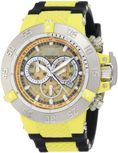 Customized Yellow Watch Dial