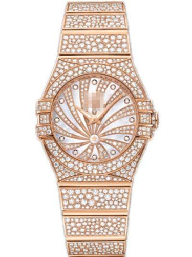 Custom Rose Gold Watch Dial 123.55.27.60.55.009
