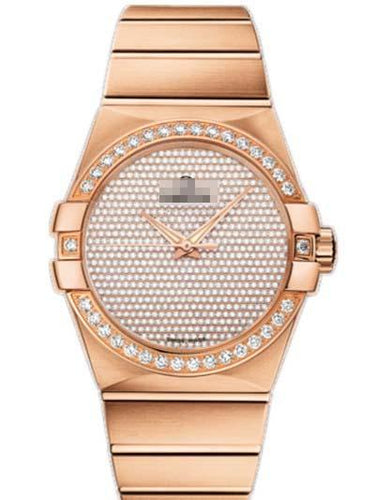 Custom Rose Gold Watch Dial 123.55.38.20.99.004