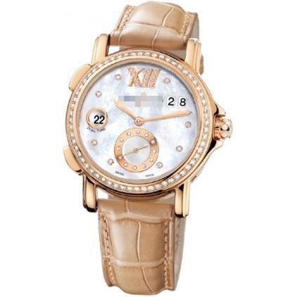 Custom Made World's Most Famous Ladies 18k Rose Gold Automatic Watches 246-22B/391