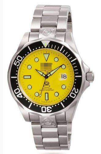 Custom Yellow Watch Dial