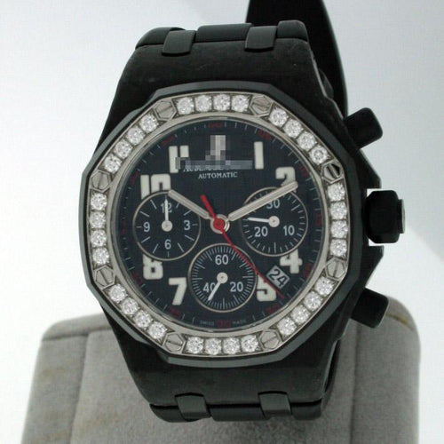 Custom Ladies Forged Carbon Watches 26267FS.ZZ.D002CA.01