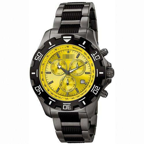 Customize Yellow Watch Dial