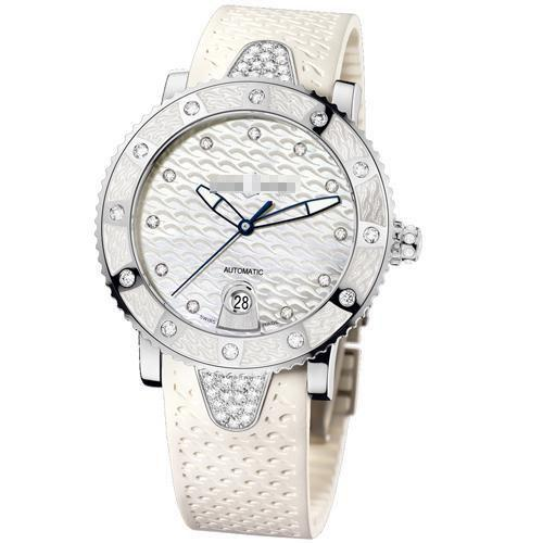 Custom Made International Elegance Ladies Stainless Steel Automatic Watches 8103-101e-3c/10