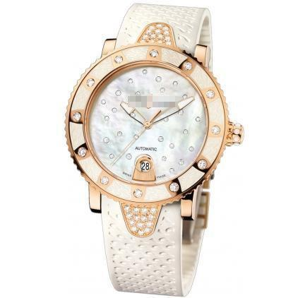 Custom Made Beautiful Expensive Ladies 18k Rose Gold Automatic Watches 8106-101e-3c/20