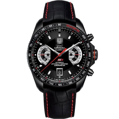Customised International Famous Men's Black PVD Titanium Automatic Watches CAV518B.FC6237