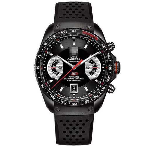 Customised Beautiful Famous Men's Black PVD Titanium Automatic Watches CAV518B.FC6016