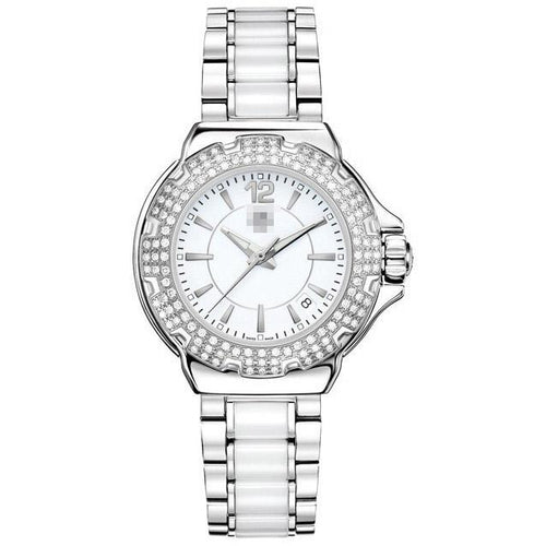 Customised Luxurious Fashion Ladies Stainless Steel Quartz Watches WAH1215.BA0861