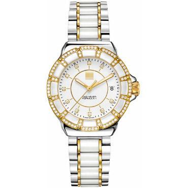 Customised World's Most Luxurious Ladies Stainless Steel Quartz Watches WAH1221.BB0865
