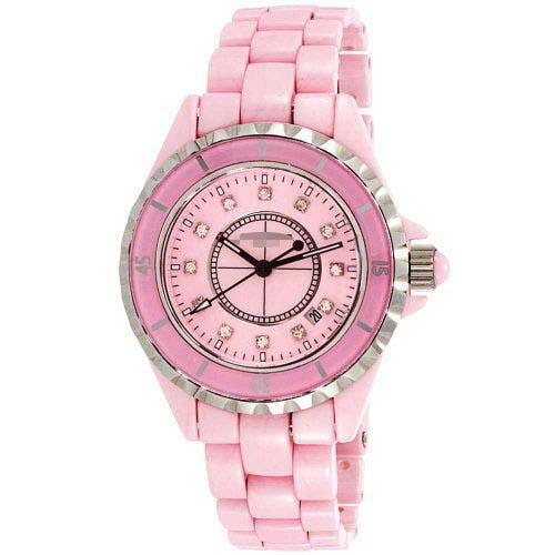 Custom Pink Watch Dial