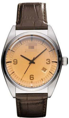 Custom Mustard Watch Dial AR0394