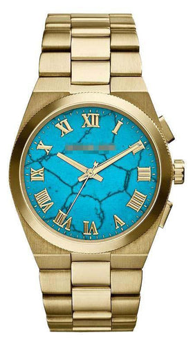 Custom Turquoise Watch Face MK5894