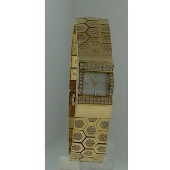 Wholesale Ladies 15mm 18k Yellow Gold Watches