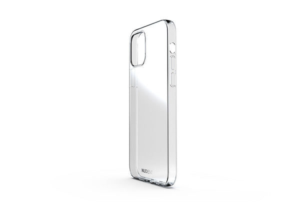 Nudient - Coque Fine et transparente pour iPhone 12 - 100% transparent