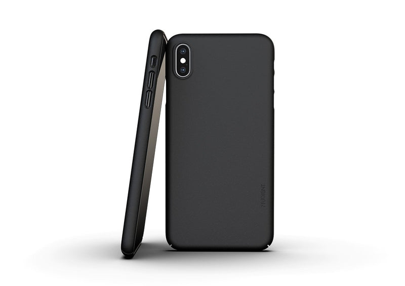 Nudient - Coque Fine Pour iPhone XS Max  V3 - Ink Black
