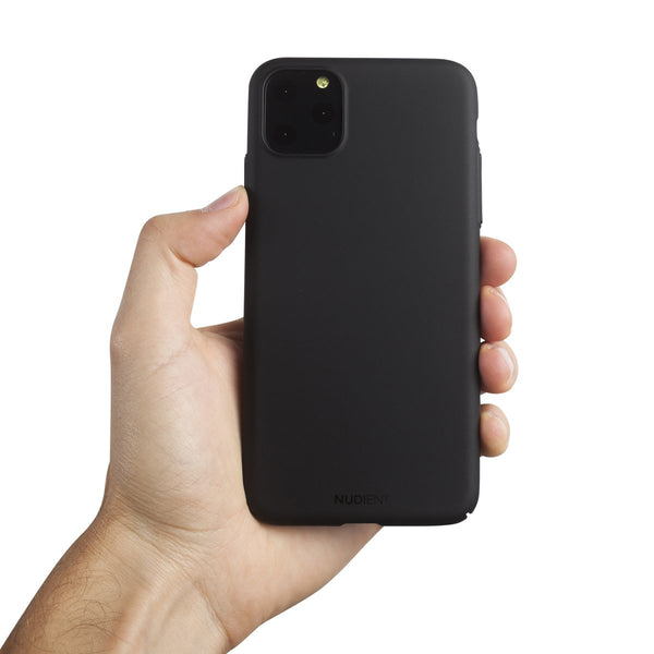 "Coque Fine Pour iPhone 11 Pro Max 6,5"" V2 - Stealth Black"