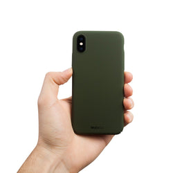 Coque Fine Pour iPhone X V2 - Majestic Green