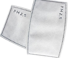 Load image into Gallery viewer, PM 2.5 Face Mask Filters - 10 Pack (Will ship with in 24 hours) - A Plus Medical Scrubs