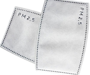 PM 2.5 Face Mask Filters - 10 Pack (Will ship with in 24 hours) - A Plus Medical Scrubs