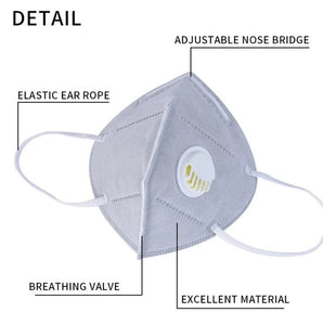 New A+ KN95 Mask (White) will ship within 24 hours - A Plus Medical Scrubs