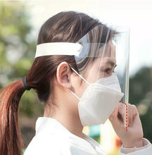 Load image into Gallery viewer, Transparent Face Shields (will ship within 24 hours) - A Plus Medical Scrubs