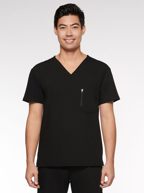 Mens / Unisex Top Classic V-Neck with 4 Pockets (95001)