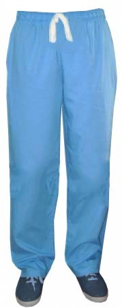 A+ Microfiber Pant 2 pockets normal elasticated waistband unisex pant - A Plus Medical Scrubs