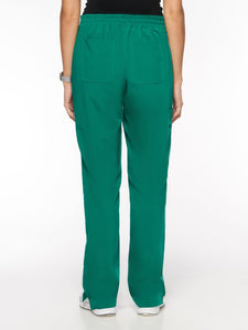 Womens Pant Classic Elastic Pant with 7 Pockets – Petite (93001P) - A Plus Medical Scrubs