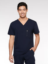 Load image into Gallery viewer, Mens / Unisex Top Classic V-Neck with 4 Pockets (95001) - A Plus Medical Scrubs