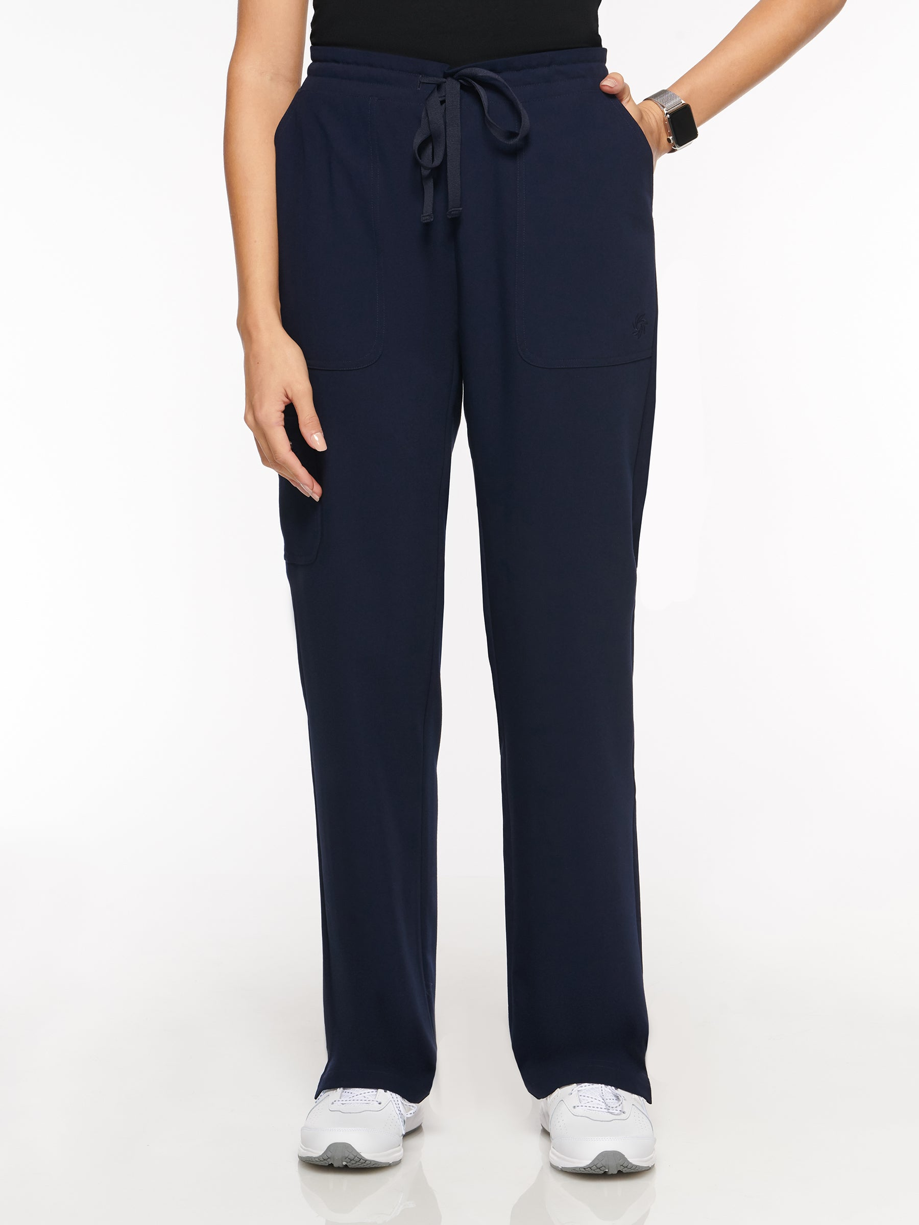 Womens Pant Classic Elastic Pant with 7 Pockets – Regular (93001R) - A Plus Medical Scrubs