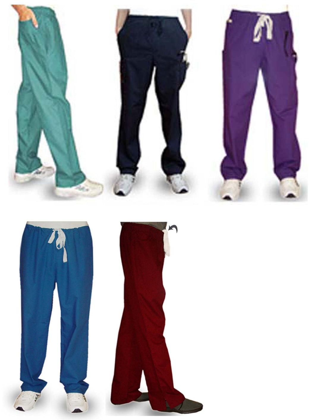 A+ Microfiber fabric qld pants select your style - A Plus Medical Scrubs
