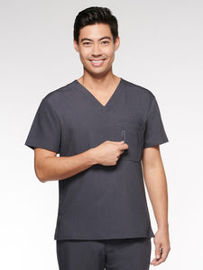 Mens / Unisex Top Classic V-Neck with 4 Pockets (95001) - A Plus Medical Scrubs