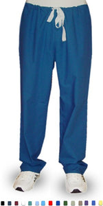 A+ Microfiber Pant no pocket no elastic cord only waistband unisex - A Plus Medical Scrubs