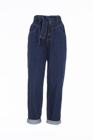 Pantalone in cotone denim Meme Road