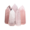 Rose Quartz Crystal Point