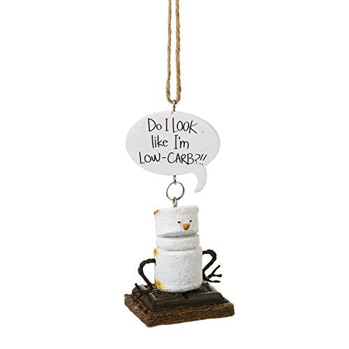 Midwest-CBK Toasted S'Mores Do I Look Like I'm Low-CARB?!! Ornament