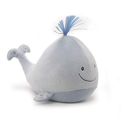 GUND Baby Sleepy Seas Sound & Lights Plush Stuffed Whale, 7""
