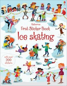 Usborne Books Ice Skating First Sticker Book